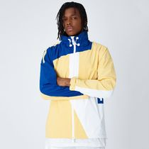 KITH / SS19 / THE MADISON II JACKET YELLOW / WHITE / ROYAL