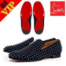 "◆VIP◆Christian Louboutin ""Rollerboy""Spikes Flat スリッポン"