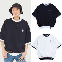 ★ROMANTIC CROWN★韓国 Tシャツ Pocket Sweat T Shirt【全2色】