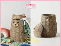 最安値保証*関送料込【Anthro】Buddy Bear Kids Storage Basket
