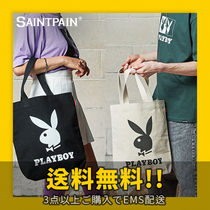 ★SAINTPAIN X PLAYBOY★ OG LOGO ECHO BAG