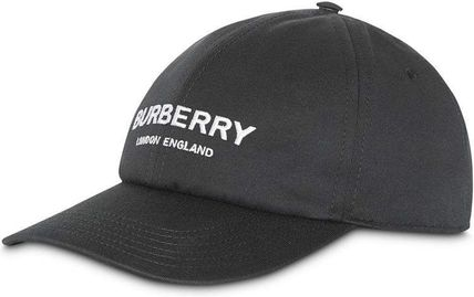 Burberry ○秀逸 BURBERRY ロゴ embroidered cap