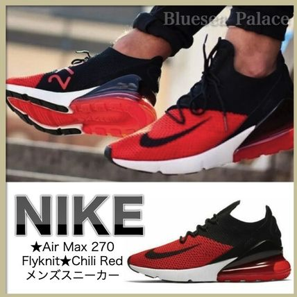 cheap for discount c9cfe d0d0f Nike(ナイキ)★Air Max 270 Flyknit★Chili Redメンズスニーカー
