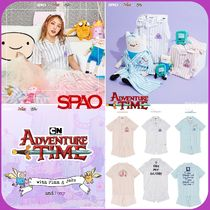 SPAO(スパオ) ルームウェア・パジャマ [SPAO]★NEW★ SPAO × ADVENTURE TIME コラボ パジャマセット