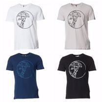完売必至!☆Versace Collection☆Medusa Circle Logo Tee