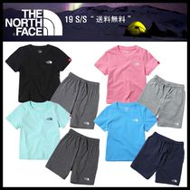 ★関税込★THE NORTH FACE★K'S BIG LOGO LOUNGE WEAR SET★4色