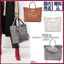 【国内関税込】TOD'S DOUBLE T SHOPPING BAG ラージ