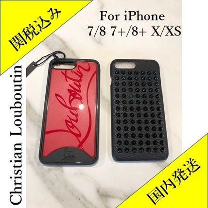 Christian Louboutin スマホケース・テックアクセサリー 正規品 Christian Louboutin iPhone case for 7/8 7+/8+ X/XS(8)