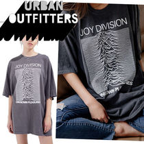 Urban Outfitters(アーバンアウトフィッターズ) Tシャツ・カットソー ●UO●人気 Joy Division Unknown Pleasures オーバーサイズT 黒