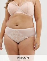 Figleaves Curve Decadence knicker in blush