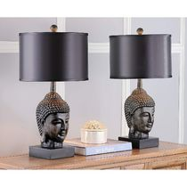 お得2個セット☆Safavieh Golden Buddha 24.5-inch Table Lamp