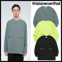 ★イベント中/関税込★thisisneverthat★Fishing L/SL Top★3色