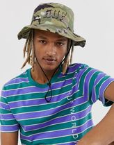 HUF Rivington hat in camo