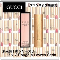 GUCCI 未入荷!新シリーズ♪リップ Rouge a Levres Satin