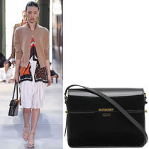 BB185 LOOK22 LARGE PATENT LEATHER GRACE BAG