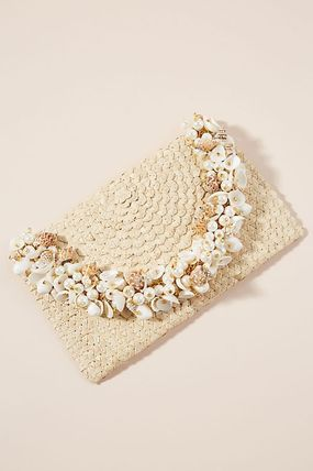 【Anthropologie】新作!Mystique Shell Clutchかごバッグ