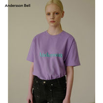 ANDERSSON BELL正規品★19SS シグニチャー刺繍Tシャツ★UNISEX