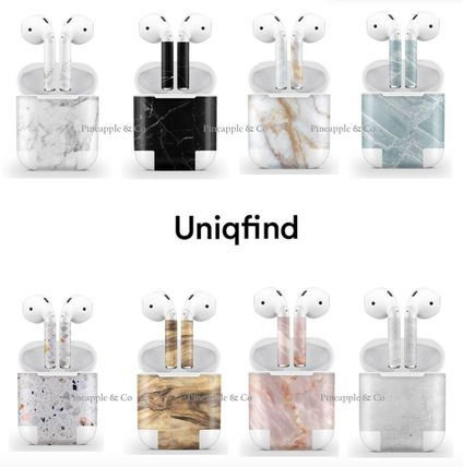 Uniqfind・AirPods★充電ケースとイヤフォンお揃いに!送料込み