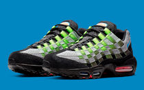 Nike Air Max 95 Woven Black Photo Blue 25~28cm EMS郵便局対応