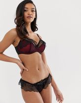 Pour Moi Contradiction Frill Me Skirted Suspender Brief