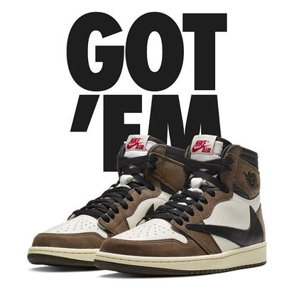 【NIKE x TRAVIS SCOTT】AIR JORDAN  1 RETRO HIGH