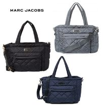 ★MARC JACOBS★ キルト ナイロン マザーズ バッグ