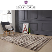 MARY HOUSE ★Nubian Carpet  BROWN - 200 X 290