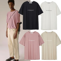 ANDERSSON BELL★UNISEX ARTISTIC CASUAL TACTEL T-SHIRT 4色
