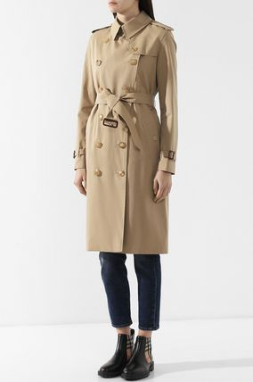 Burberry トレンチコート BB197 THE LONG KENSINGTON HERITAGE TRENCH COAT(2)