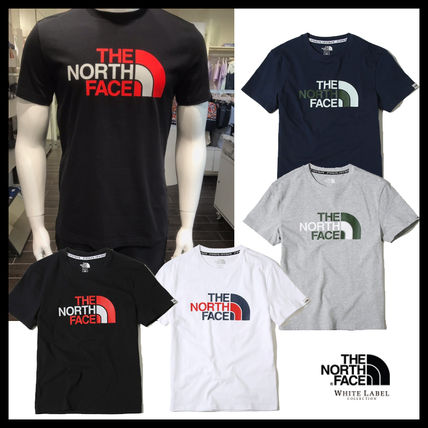 THE NORTH FACE Tシャツ・カットソー 【THE NORTH FACE】RETRO LOGO S/S R/TEE★日本未入荷★19SS