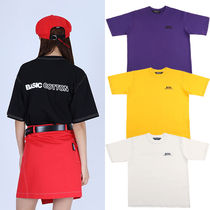 ★BASIC COTTON★韓国 半袖 Tシャツ BCN Stitch Half Top 全4色