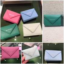 BALENCIAGA Papier Mini Wallet Smooth Calf 391446 DLQ0N