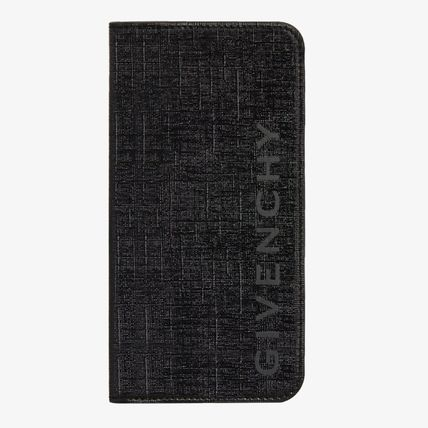 GIVENCHY スマホケース・テックアクセサリー GIVENCHY!防水加工キャンバス iPhone X/XS ウォレットケース(2)