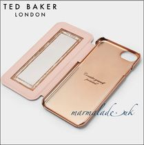 【TED BAKER】iPhone6/6s/7/8手帳型ケース鏡付き♪4色展開