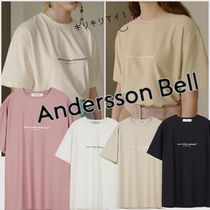 【ANDERSSON BELL】19SS Artistic Casual Tactel  Tシャツ☆4色