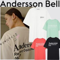 【ANDERSSON BELL】19SS リゾート  バック ロゴ Tシャツ☆4色