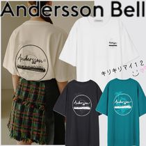 【ANDERSSON BELL】アニバーサリーパームツリープリント Tシャツ