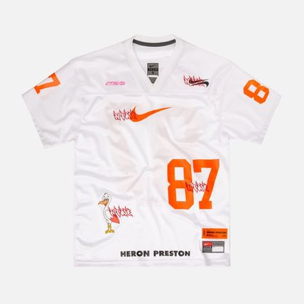 Heron Preston トップスその他 【日本未発売】HERON PRESTON  × NIKE  FOOTBALL JERSEY  WHITE