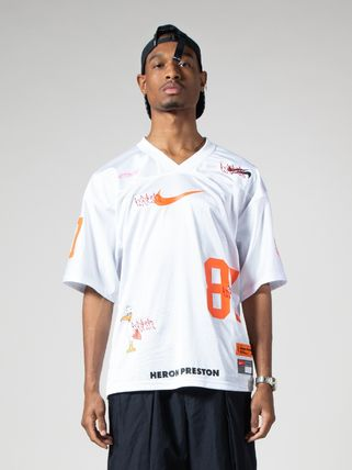 Heron Preston トップスその他 【日本未発売】HERON PRESTON  × NIKE  FOOTBALL JERSEY  WHITE(7)