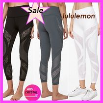 [lululemon]★Wunder Under Hi-Rise 7/8 Tight LACE 25★レース