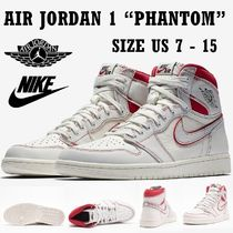 NIKE ナイキ Air Jordan 1 Retro High Phantom Gym Red SS19