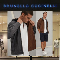 【19SS】BRUNELLOCUCINELLI_men/ヌバックリバーシブルパーカー/