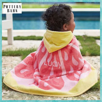 *Pottery Barn*Pink Lemonade Baby Beach Wrap☆ベビータオル