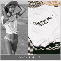 vitaminA★Sustainability is Sexy Tee【国内即発】