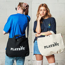 SAINTPAIN×PLAYBOY★トートバック OG LOGO CROSS 2WAY BAG 2色