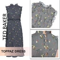 TED BAKER :: Toppaz oracle pleated midi :: プリーツドレス