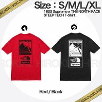 16SS /Supreme The North Face Steep Tech T-Shirt Tee ノース