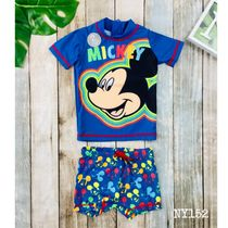 NEXT×Disney Mickey Mouse TOP+ショートパンツ水着set*1.5-6歳