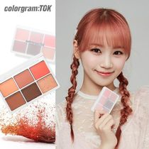 ★colorgram:TOK★HIT PAN EYE PALETTE【追跡送料込】