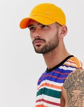 Nike metal swoosh cap in orange